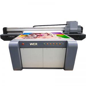 3D効果UVフラットベッドプリンタ、セラミックプリンタ、中国のタイル印刷機WER  -  EF1310UV