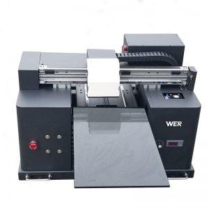 A4サイズLY A42デジタル自動電話ケースUV ledフラットベッドプリンタUVフラットベッドプリンタ、6色印刷WER-E1080UV