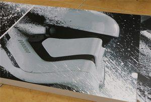 WER-G2513UV大判UVプリンタで印刷されたビルボード