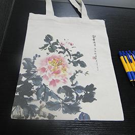 A2 TシャツプリンタWER-D4880Tによるキャンバスバッグ印刷サンプル