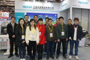 2015年3月上海での展覧会