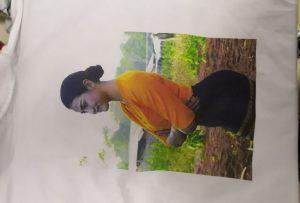 WER-EP6090Tプリンターからのビルマクライアント用Tシャツ印刷サンプル