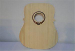 A2サイズuvプリンタWER-DD4290UVからの木製ギターサンプル